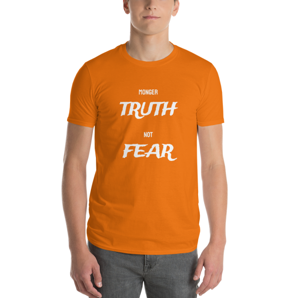 Monger Truth not Fear - Men's Orange